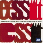 ESBJORN SVENSSON TRIO e.s.t.  From Gagarin's Point Of View