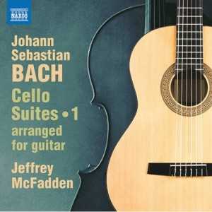J.S.BACH  Cello Suites 1 - Nos. 1-3, Bwv1007-1009 , arr. for guitar  J. McFadden