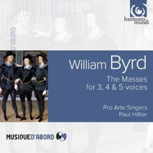 WILLIAM BYRD (1540-1623)   The Masses For 3, 4 & 5 Voices