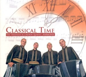 Accordion Quartet HARMONIA Classical Time