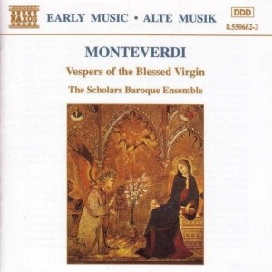 MONTEVERDI  Vespers of the Blessed Virgin  2 CD