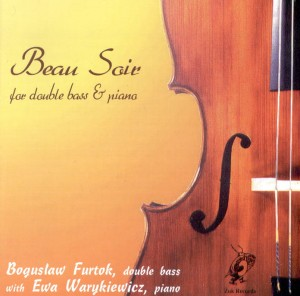 BEAU SOIR   for double bass & piano